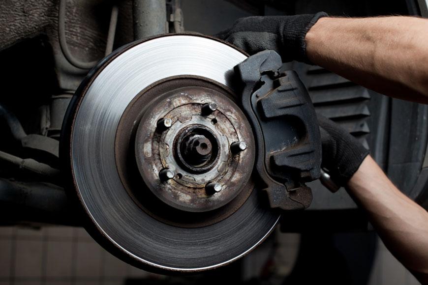 Wann sollten Bremsscheiben, Bremssklötze gewechselt werden?